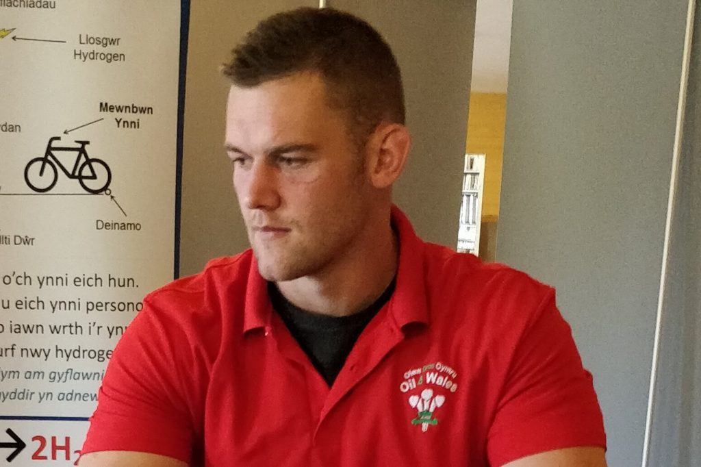 Welsh Rugby Star: Dan Lydiate